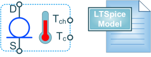 SiC CLD LTSpice model and symbol