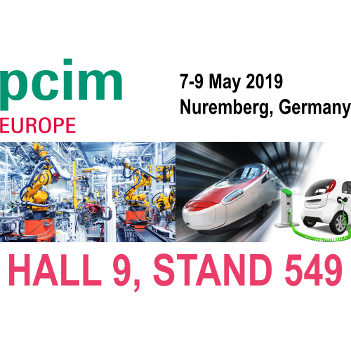 CALY Technologies at PCIM Europe 2019, Nuremberg, 7 – 9, Hall 9, Stand 549