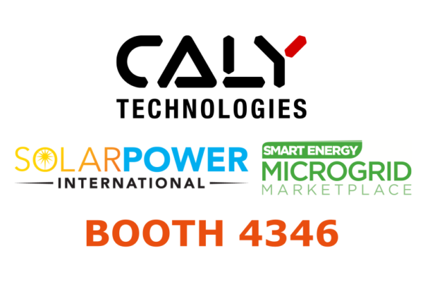 CALY Technologies at Solar Power International 2019, September 23-26, Salt Lake City (UT)