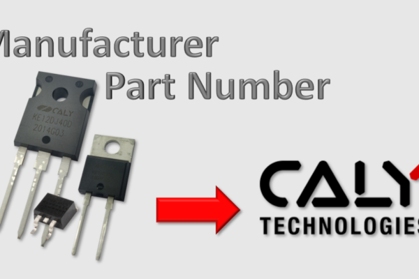 CALY Technologies : Cross Reference for 1.2kV SiC Schottky Diodes
